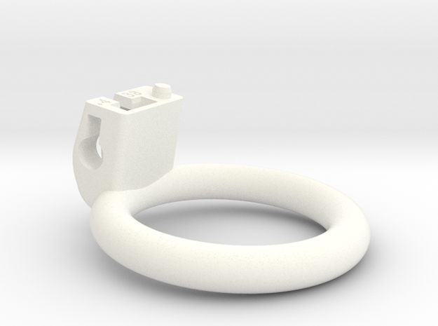 Cherry Keeper Ring G2 - 38mm Flat +4° in White Processed Versatile Plastic