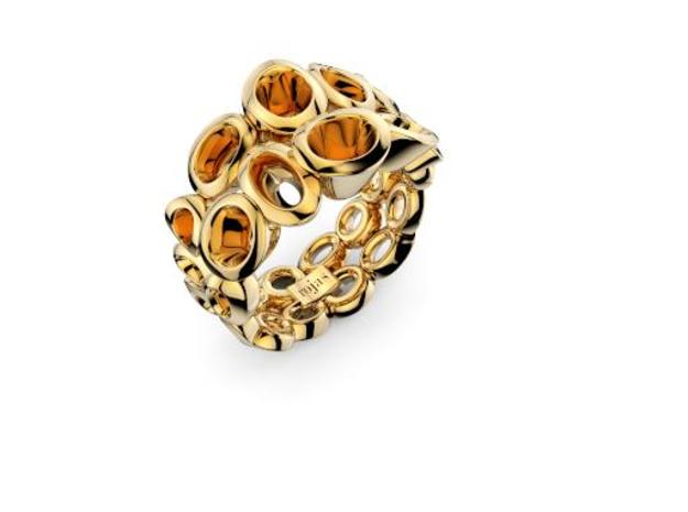 Neitiry Organic  Ring (From $13) in 18k Gold Plated Brass: 6.5 / 52.75