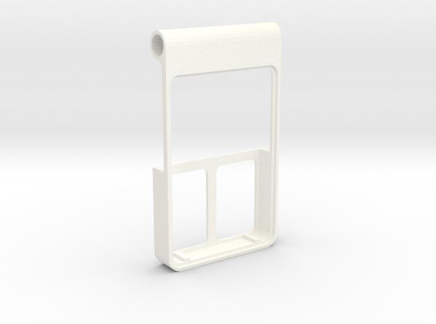 Apple Store Badge in White Processed Versatile Plastic