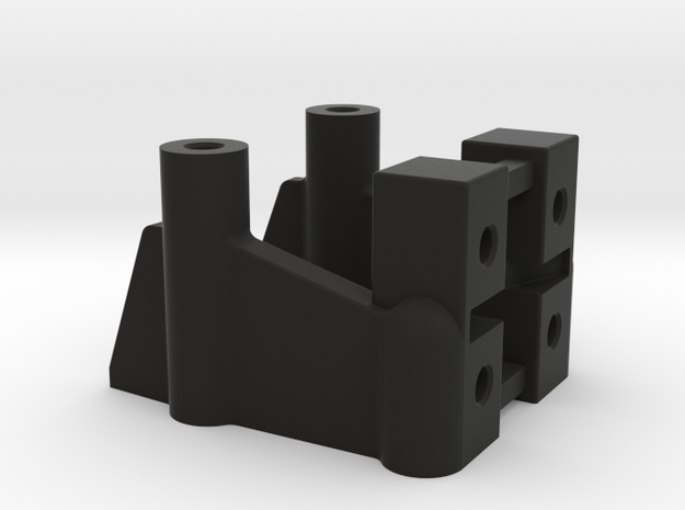 NIX92002 Graphite chassis front adapter 3d printed