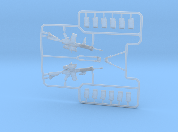 1/35 L129A1 Sharpshooters rifle set MSP35-094 in Smoothest Fine Detail Plastic