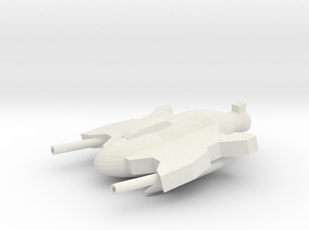 StarFighter in White Natural Versatile Plastic