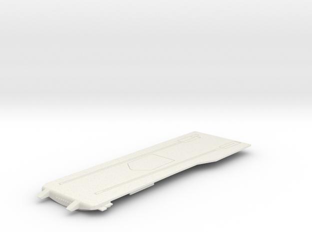 1/600 CVS-11 USS Intrepid Flight Deck Front in White Natural Versatile Plastic