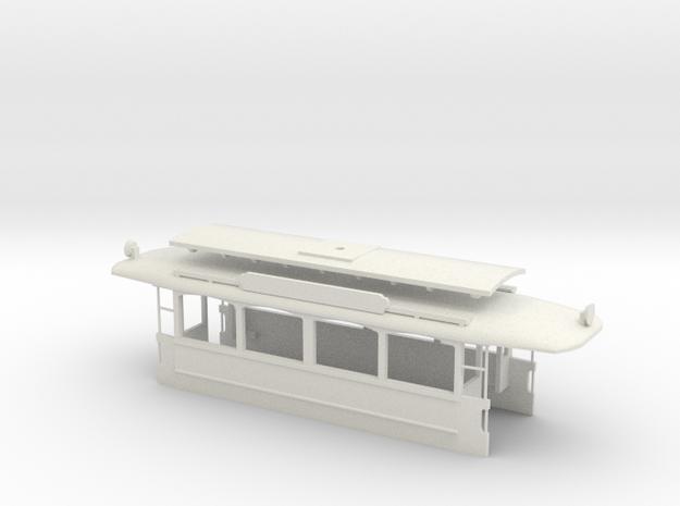 G2 offene Plattform Wagenkasten in White Natural Versatile Plastic