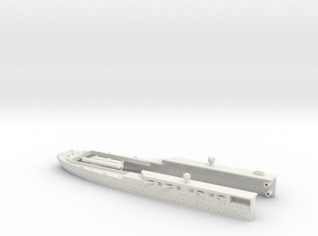 1/700 FlugDeckKreuzer AIII Stern (w/out Deck Plank in White Natural Versatile Plastic