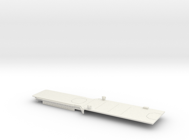 1/700 FlugDeckKreuzer AII Stern Deck in White Natural Versatile Plastic