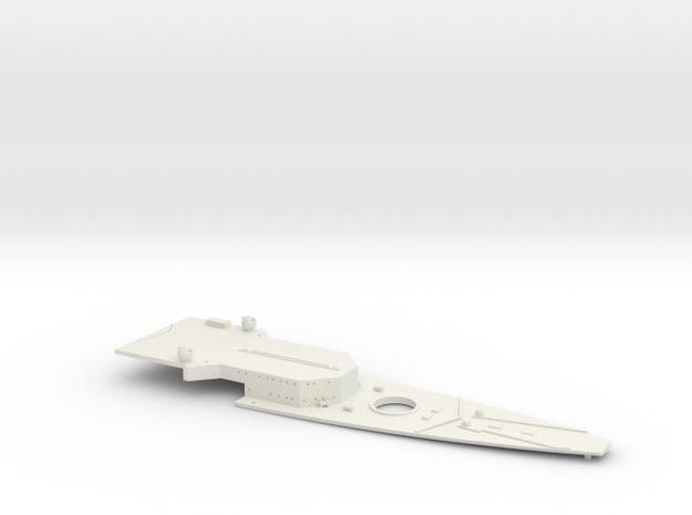 1/700 FlugDeckKreuzer AII Bow Deck (w/out Deck Pla in White Natural Versatile Plastic