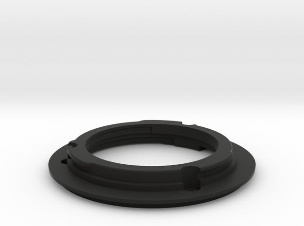 FDn to EF Mount for 50mm f1.2 in Black Natural Versatile Plastic