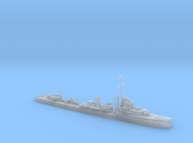 1/1200th scale HMS Mackay destroyer in Smooth Fine Detail Plastic