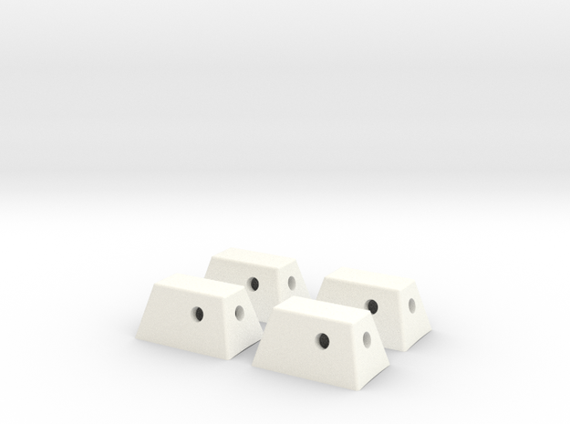 RCS Housing Set of 4-1:35 3d printed