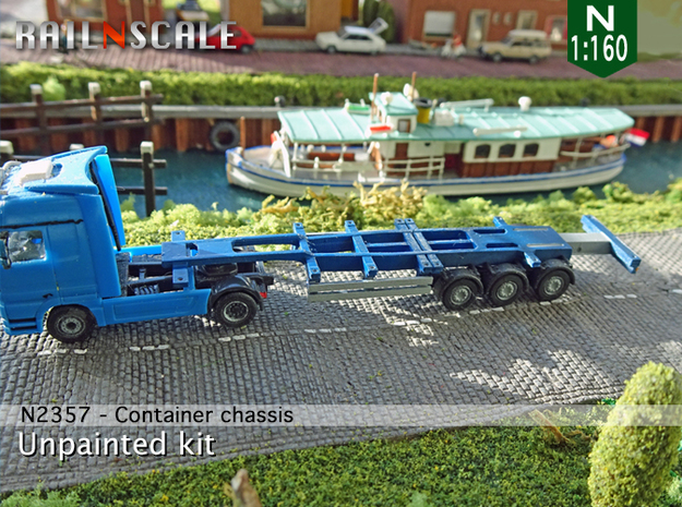 Container chassis (N 1:160)