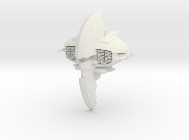 Dor Fighter in White Natural Versatile Plastic