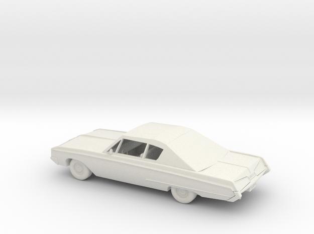 Dodge Monaco 500 - 1967 - 1:32 in White Natural Versatile Plastic