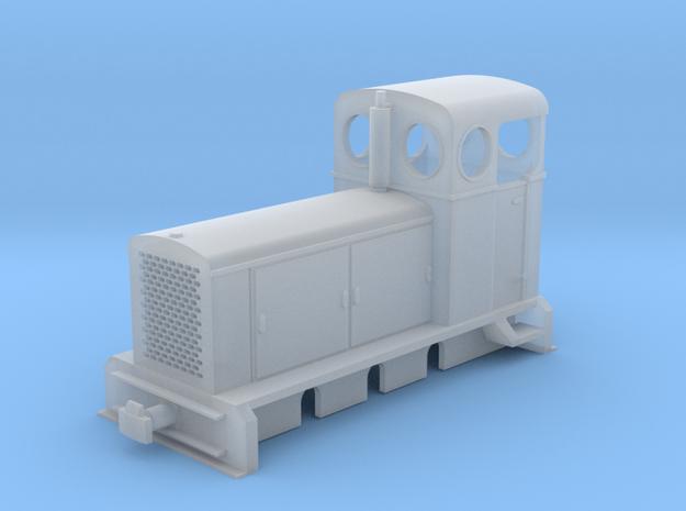 """009 Deutz inspired """"LM118"""" 0-6-0 Diesel Loco in Smooth Fine Detail Plastic"""
