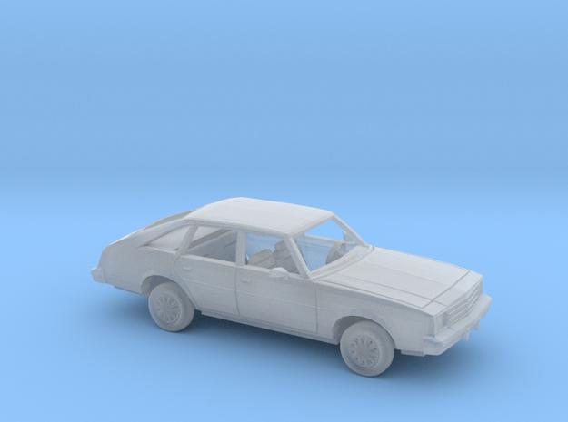 1/87 1979-81 Buick Century Sedan Kit in Smooth Fine Detail Plastic