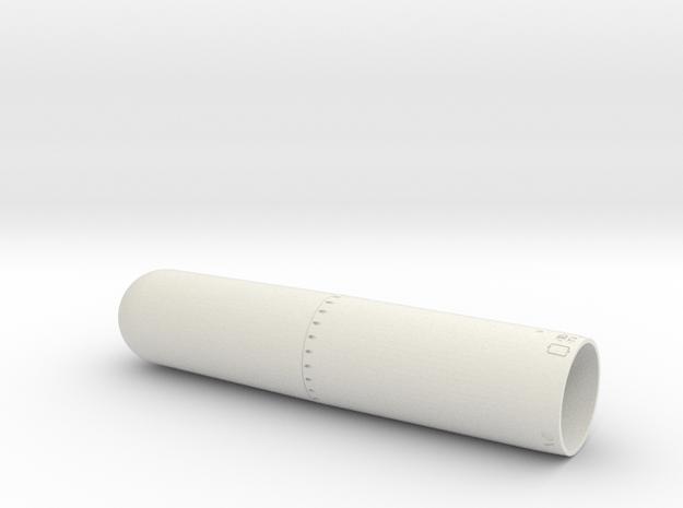 MK13-1 35TH front in White Natural Versatile Plastic