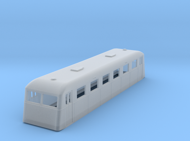 sj160fs-ub01p-ng-trailer-passenger-coach in Smooth Fine Detail Plastic