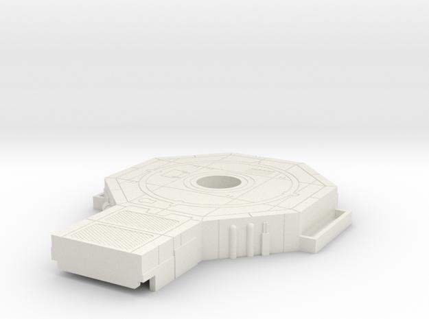 Starcom - Starbase Command - Plattform  in White Natural Versatile Plastic
