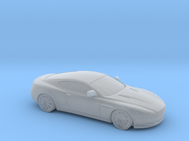 1/100  2004-08 Aston Martin DB9 in Smooth Fine Detail Plastic