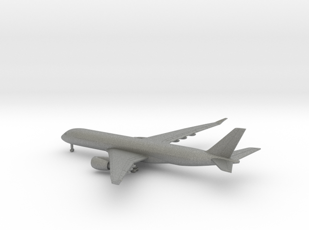 Airbus A350-900 in Gray PA12: 1:700