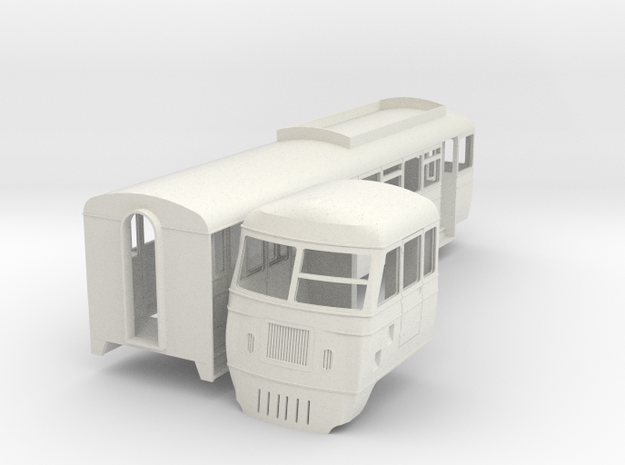 cdr-19-county-donegal-walker-railcar-19 in White Natural Versatile Plastic
