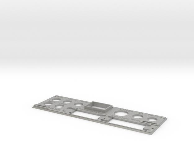 Quad 33 Rear Panel in Aluminum