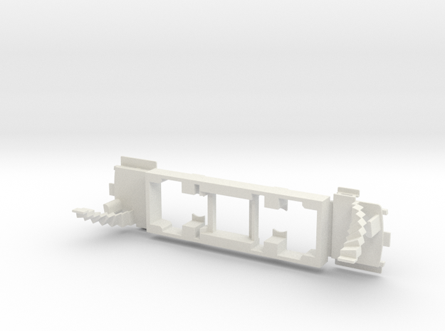 Howth 10 - OO Chassis in White Natural Versatile Plastic
