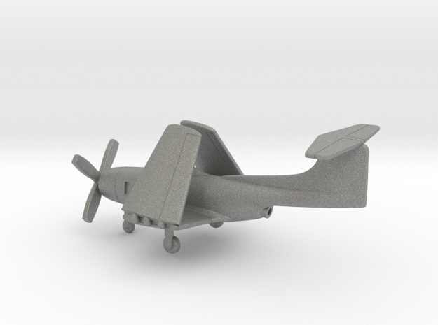 Curtiss XF15C (folded wings) in Gray PA12: 1:200