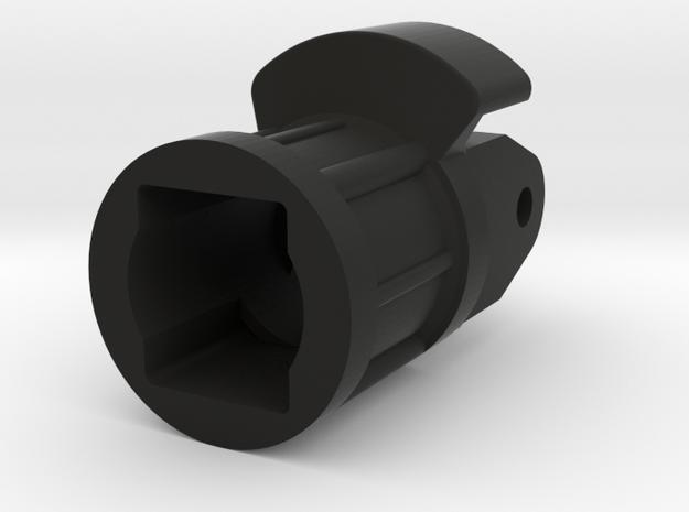 Rotatorgehäuse für Forstladekran in Black Natural Versatile Plastic