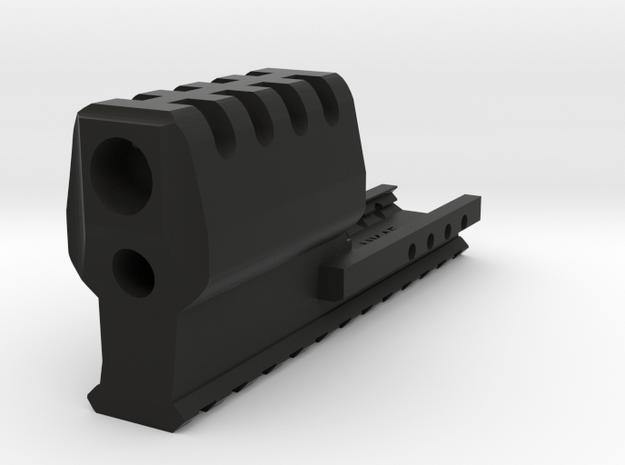 J.W. Frame Mounted Compensator (12-Slots) for HK45