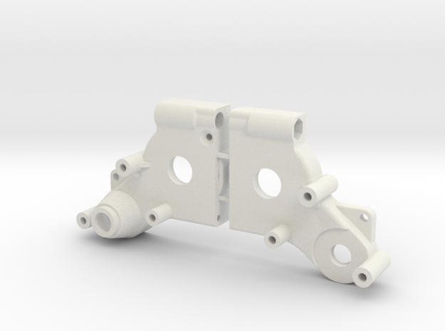 Tamiya Dyna Blaster / Dyna Storm / TR-15T gearbox in White Natural Versatile Plastic