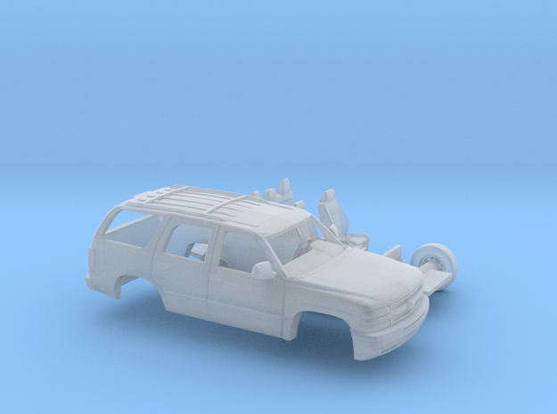 1/64 2000 Chevrolet Tahoe Kit in Smooth Fine Detail Plastic