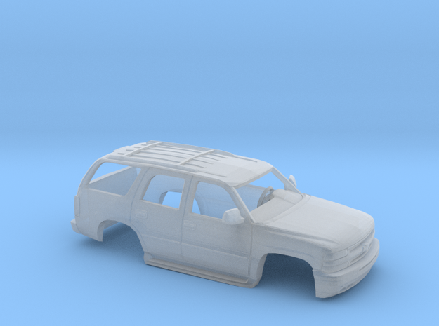 1/64 2000 Chevrolet Tahoe Shell in Smooth Fine Detail Plastic