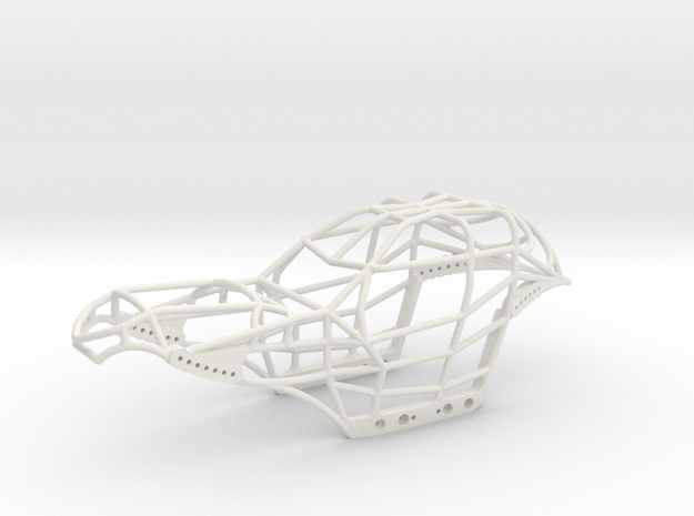 SCX24 Venom Buggy in White Natural Versatile Plastic