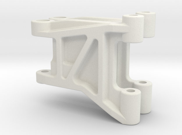 FF01 Front Arm Wheelbase Adjust in White Natural Versatile Plastic