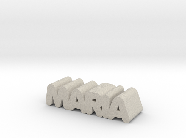 Maria in Natural Sandstone