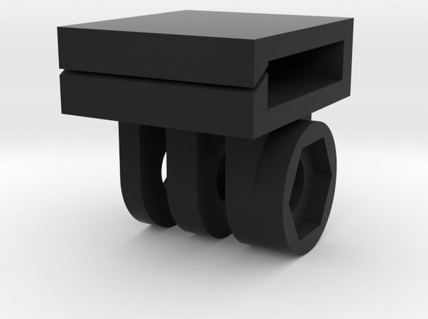Dog Collar Mount for GoPro in Black Natural Versatile Plastic