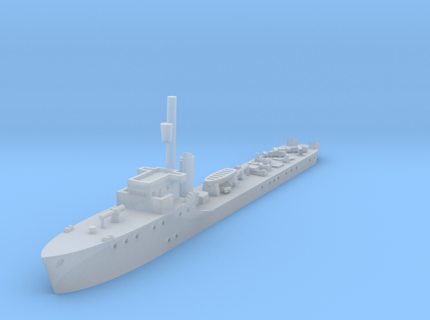 1/1250 HSwMS Jagaren  in Smooth Fine Detail Plastic