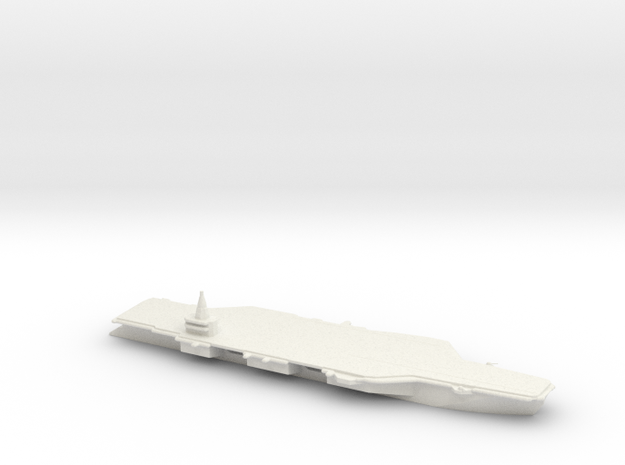 1/3000 Scale French PANG Aircraft Carrier Concept
