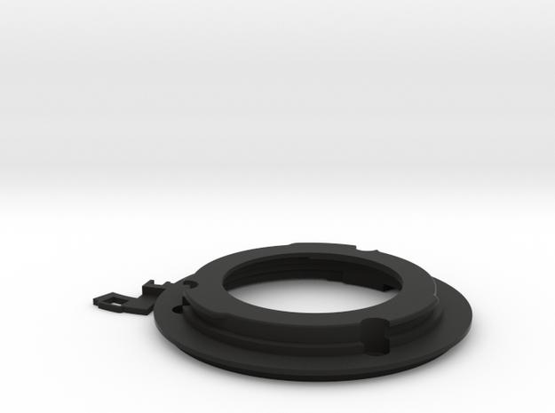Union Mount with 28mm2.8,35mm2.8 Aperture Arm in Black Natural Versatile Plastic