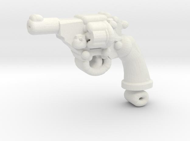 PoliceMK4 SHORT in White Natural Versatile Plastic