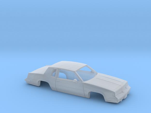 38 mm Wheelbase 1987/88 Oldsmobile Cutlass Supreme in Smooth Fine Detail Plastic