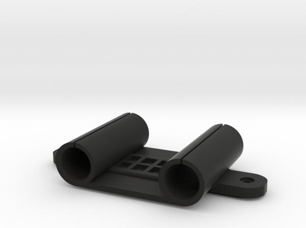 "Volt Mounting Bracket for XCS Bars (15mm x 1.85"") in Black Natural Versatile Plastic"