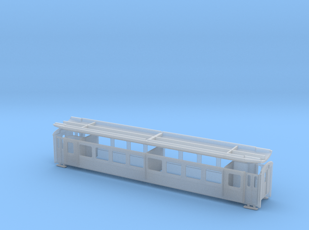 RhB B 2341-2373 in Smooth Fine Detail Plastic: 1:120 - TT