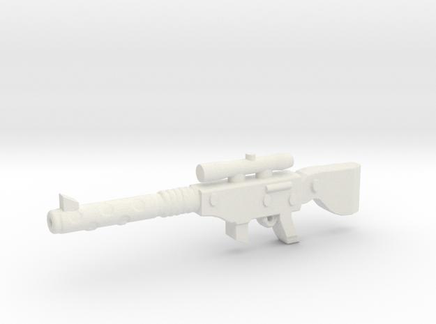 M16v5 SNIPER in White Natural Versatile Plastic
