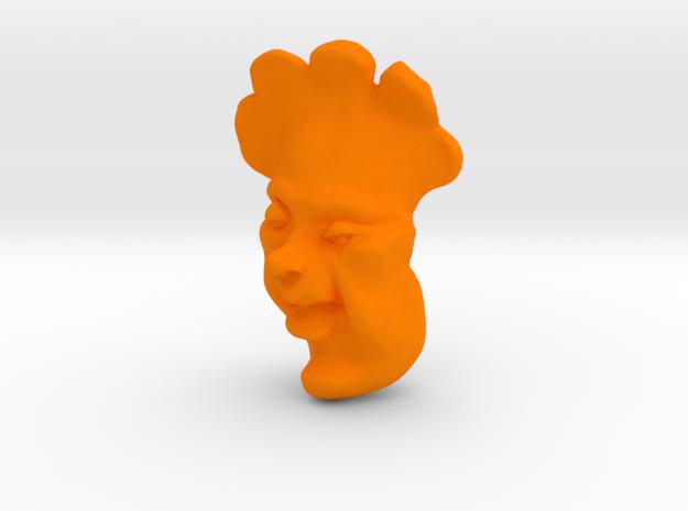 Kitchen Witch 2 in Orange Processed Versatile Plastic