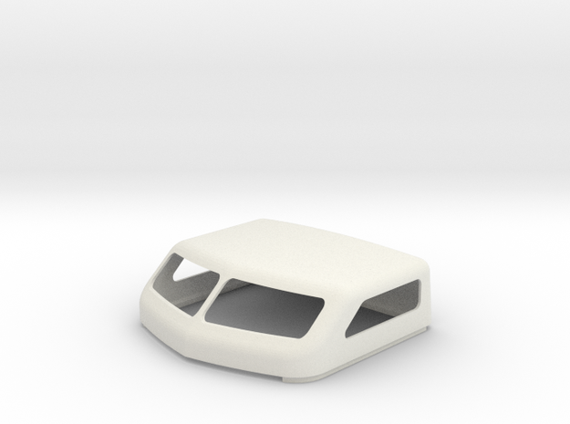KW 72 Standup Bunk Cap in White Natural Versatile Plastic