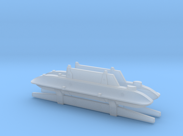 Rubies ROTJ EE-3 Body Greeblies in Smoothest Fine Detail Plastic