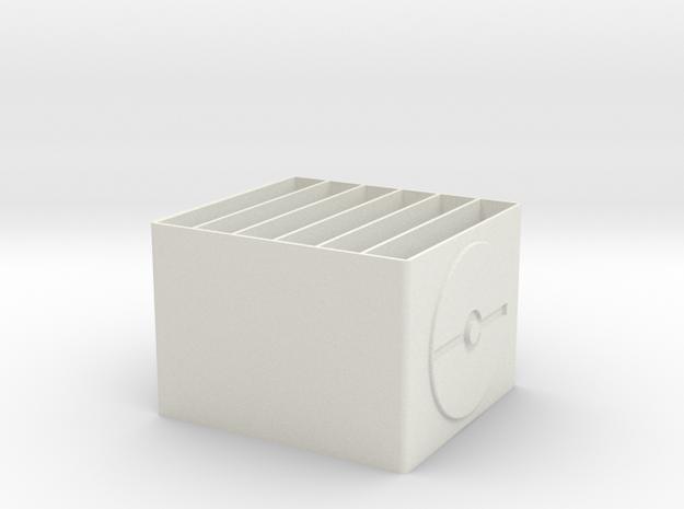 9nphlcq0jrmctfph5b744kcl32 45989707.stl in White Natural Versatile Plastic