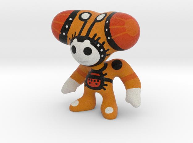 Toy Art War Double Orange Hair  in Full Color Sandstone